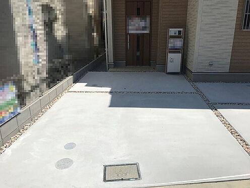 新築一戸建て-茨木市郡3丁目 駐車場