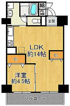 マンション(建物一部)-大阪市福島区大開3丁目 間取り