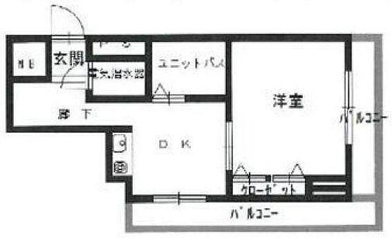 マンション(建物一部)-大阪市浪速区日本橋東3丁目 単身者がゆったりと使える1DK