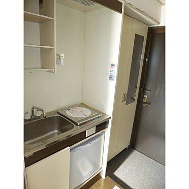 アパート-足立区花畑4丁目 キッチン