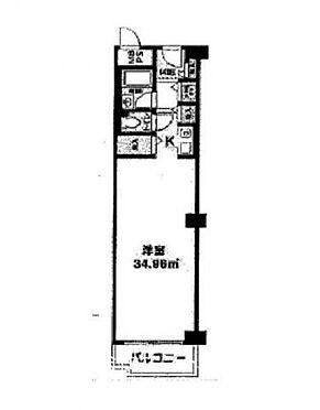 区分マンション-大阪市西区江之子島1丁目 間取り