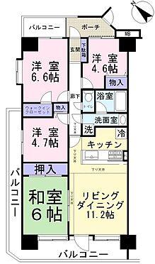 マンション(建物一部)-北本市東間5丁目 間取り