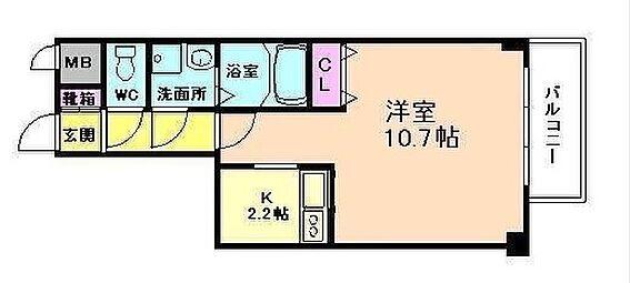 マンション(建物一部)-大阪市西淀川区野里1丁目 ゆとりのキッチンをもつ単身者向け物件