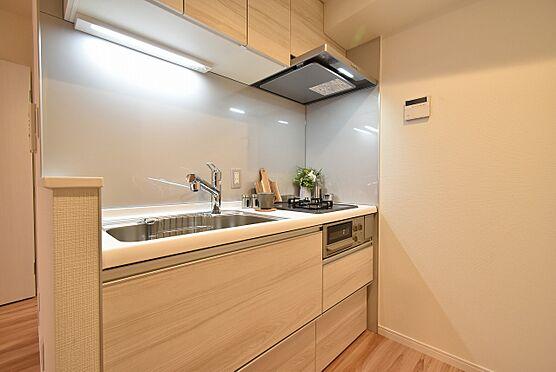中古マンション-中央区日本橋茅場町3丁目 クリナップ製のシステムキッチン
