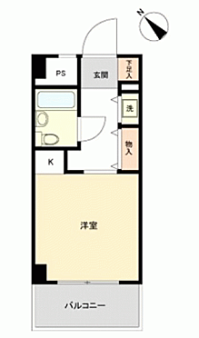 マンション(建物一部)-横浜市鶴見区下野谷町 間取り