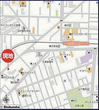 ビル(建物全部)-海老名市東柏ケ谷2丁目 地図