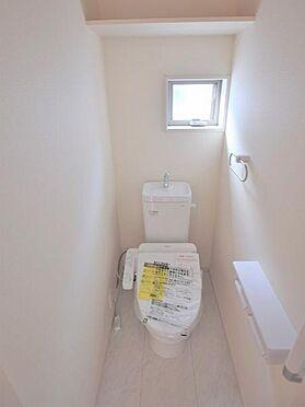 新築一戸建て-仙台市若林区沖野7丁目 トイレ