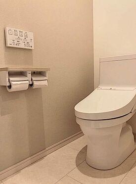 戸建賃貸-北名古屋市西之保立石 2階トイレ。
