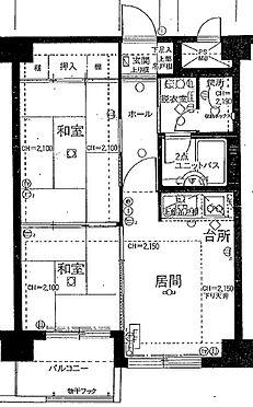 マンション(建物一部)-札幌市豊平区平岸一条13丁目 間取り