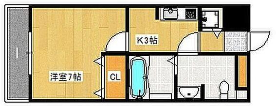 マンション(建物一部)-大阪市阿倍野区天王寺町南3丁目 間取り