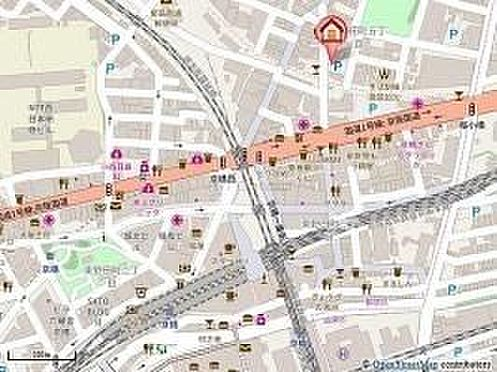 マンション(建物一部)-大阪市都島区東野田町5丁目 地図