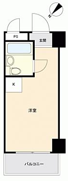 中古マンション-横浜市西区平沼1丁目 間取り