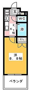 マンション(建物一部)-名古屋市熱田区花表町 間取り