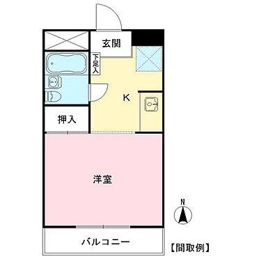 マンション(建物全部)-国立市富士見台2丁目 間取り