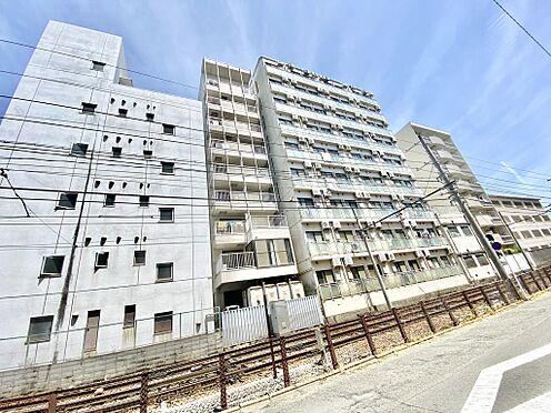 区分マンション-京都市中京区壬生仙念町 北側前面に京福電鉄嵐山本線が走っています。