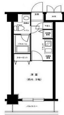 マンション(建物一部)-千代田区神田錦町3丁目 間取り