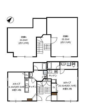 マンション(建物全部)-杉並区阿佐谷南3丁目 1階、店舗×2戸。2階〜4階。1K×6戸