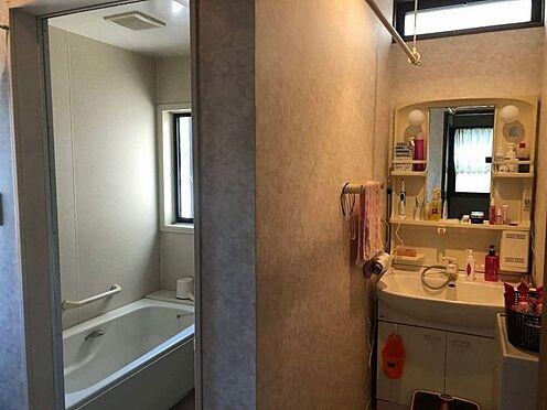 中古一戸建て-名古屋市名東区引山1丁目 2階洗面室 洗髪洗面化粧台で朝の支度もはかどります