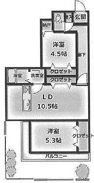 マンション(建物一部)-足立区西保木間2丁目 間取り