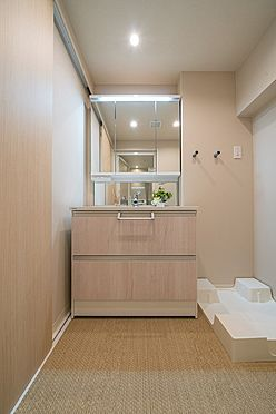 区分マンション-文京区本郷3丁目 三面鏡付洗面化粧台