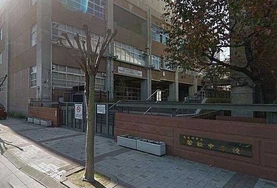 マンション(建物一部)-北九州市若松区修多羅2丁目 北九州市立若松中学校。978m。徒歩12分。