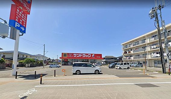 戸建賃貸-仙台市若林区遠見塚1丁目 サンドラッグ 南小泉店 約550m