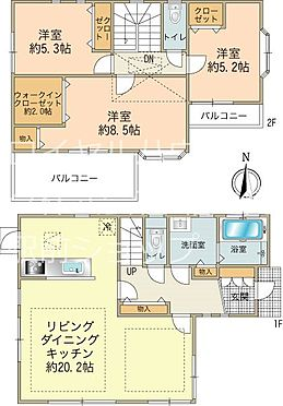中古一戸建て-町田市小山町 3LDK・木造スレート葺2階建