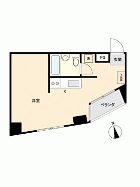 区分マンション-新宿区新宿7丁目 間取り