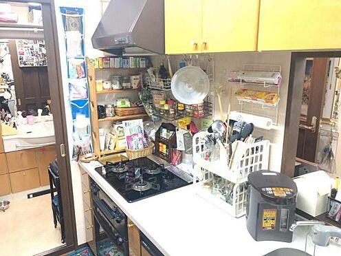 中古マンション-豊田市寿町7丁目 家族との会話が弾む対面式キッチン。主婦の味方、食洗器ついています!