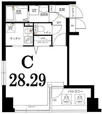 区分マンション-横浜市都筑区中川中央1丁目 間取り