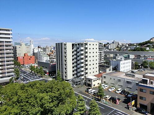 マンション(建物一部)-横浜市中区山田町 物件から見た眺望です。
