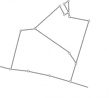 土地-額田郡幸田町大字深溝字仲馬乗 土地面積:約1261.9平方メートル(約381.73坪)