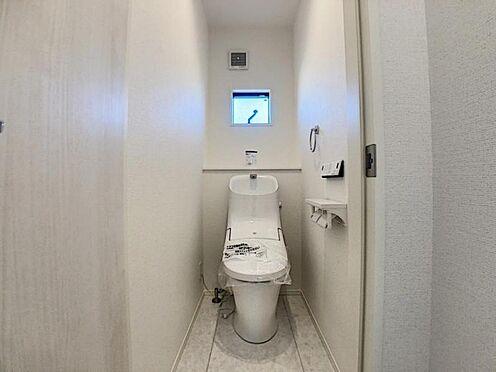 新築一戸建て-名古屋市天白区海老山町 トイレは2か所あります