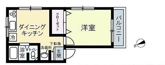 中古マンション-豊島区池袋2丁目 間取り