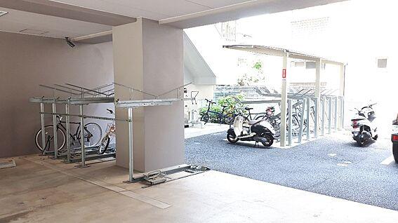 区分マンション-福岡市中央区大宮2丁目 自転車置場