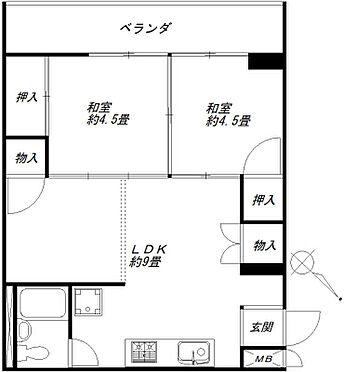 マンション(建物一部)-板橋区東坂下2丁目 間取り