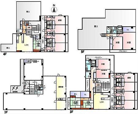 マンション(建物全部)-東村山市萩山町3丁目 間取り図