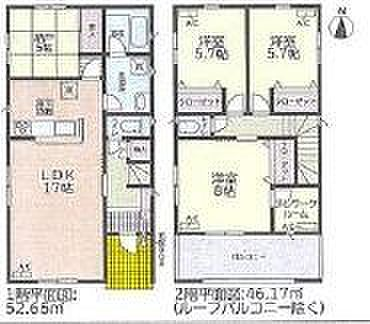 戸建賃貸-名古屋市北区如来町 日当たり良好な室内