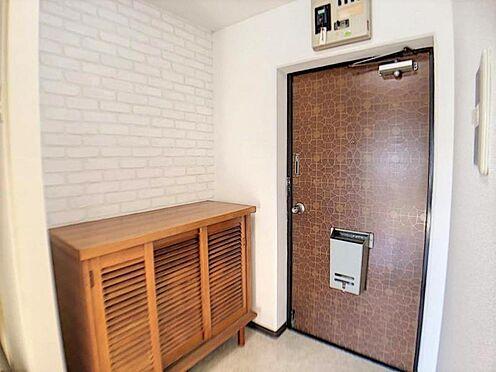 中古マンション-名古屋市天白区植田西1丁目 シューズボックス付きの玄関です。