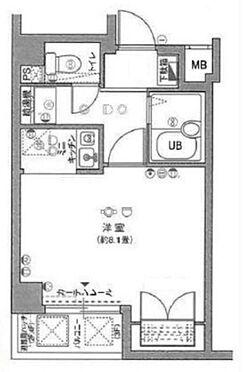 区分マンション-品川区西五反田7丁目 間取り