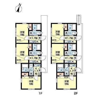 アパート-横浜市港北区篠原東2丁目 1K6世帯