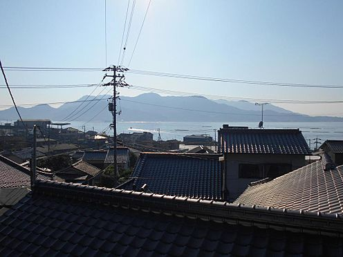 アパート-呉市汐見町 2Fからは海を望め眺望良好です