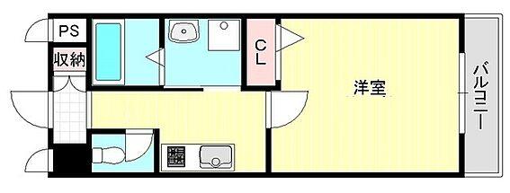 マンション(建物一部)-大阪市淀川区十三本町1丁目 2点セパレートの1Kで単身者に人気の間取り