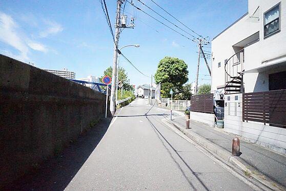 アパート-横浜市西区南浅間町 北方面前面道路