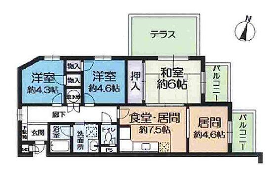 マンション(建物一部)-神戸市垂水区高丸3丁目 全室開口の明るい室内