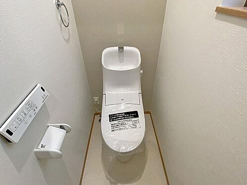 新築一戸建て-大阪市平野区背戸口3丁目 トイレ