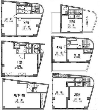 ビル(建物全部)-新宿区北新宿3丁目 間取り