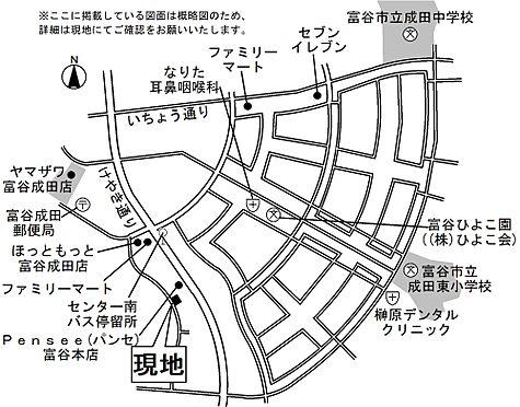 アパート-富谷市成田8丁目 地図