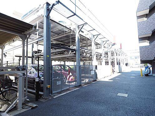中古マンション-浦安市富士見5丁目 マンション北側には機械式駐車場