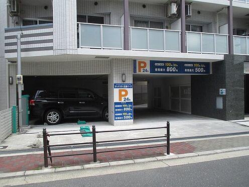 中古マンション-大阪市東成区玉津1丁目 駐車場入り口です